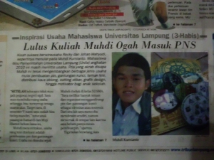 Muhdi Kurnianto in News